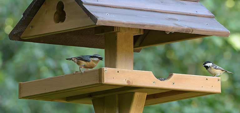 RSPB Bird tables