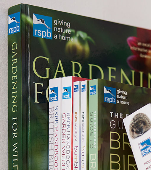 Gardening books available to buy from the RSPB