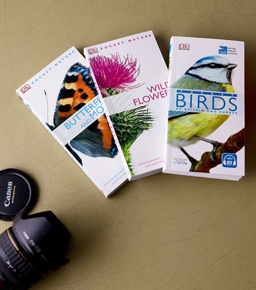 Pocket guides available to buy from the RSPB