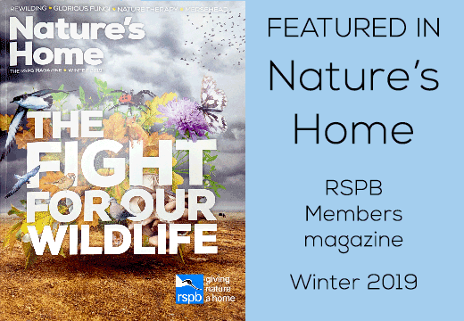 As featured in Nature's Home magazine