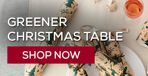 Have a more eco-friendly Christmas table. Shop now!
