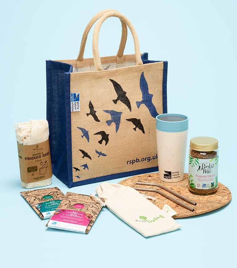 Eco friendly home products from shopping bags to rainforest chocolate, cork mats and stainless steel kitchenware
