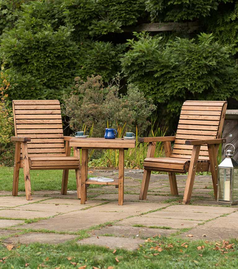 Garden furniture Lodge collection from RSPB Shop