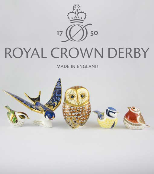 Shop Royal Crown Derby collection
