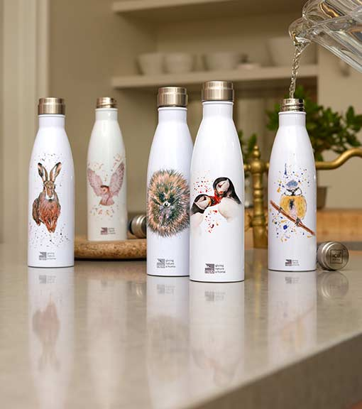 Eco water bottles with stylish designs and more