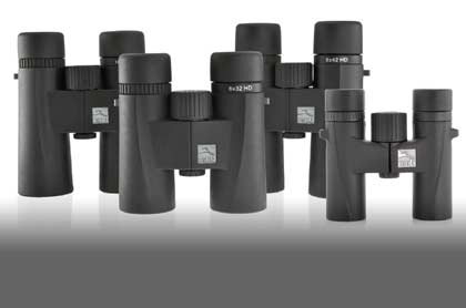 Wide range of birdwatching binoculars and spotting scopes for different budgets