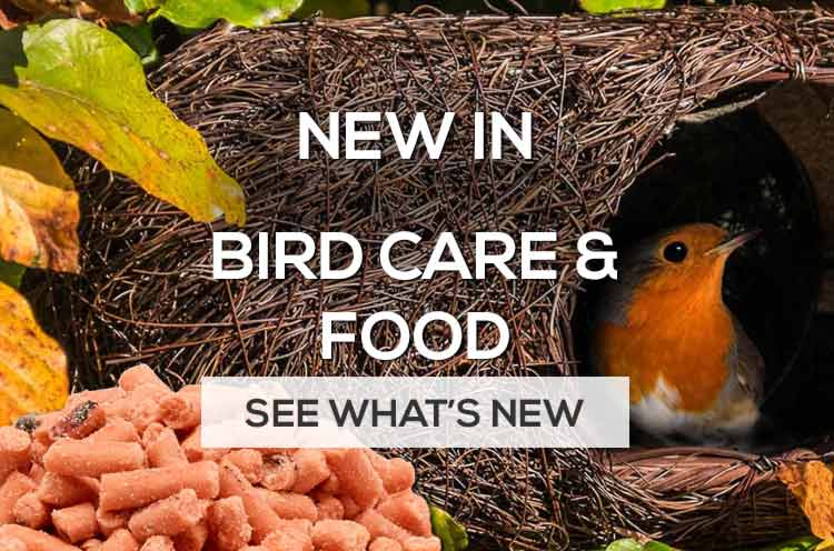 New in bird care and bird food