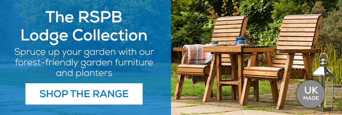 The RSPB Lodge collection - Spruce up your garden with our forest-friendly garden furniture and planters. Shop the range