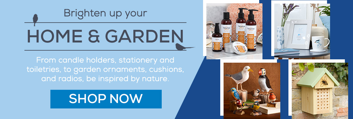 Brighten up your home and garden. From candle holders, stationery and toiletries, to garden ornaments, cushions, and radios, be inspired by nature. Shop Now.