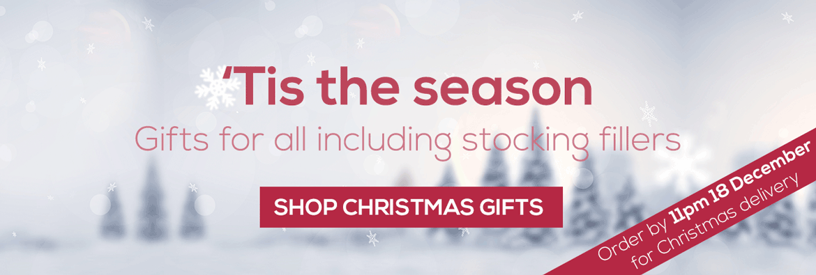 Click to shop Christmas gift ideas and order by the end of 18 December for delivery in time for Christmas