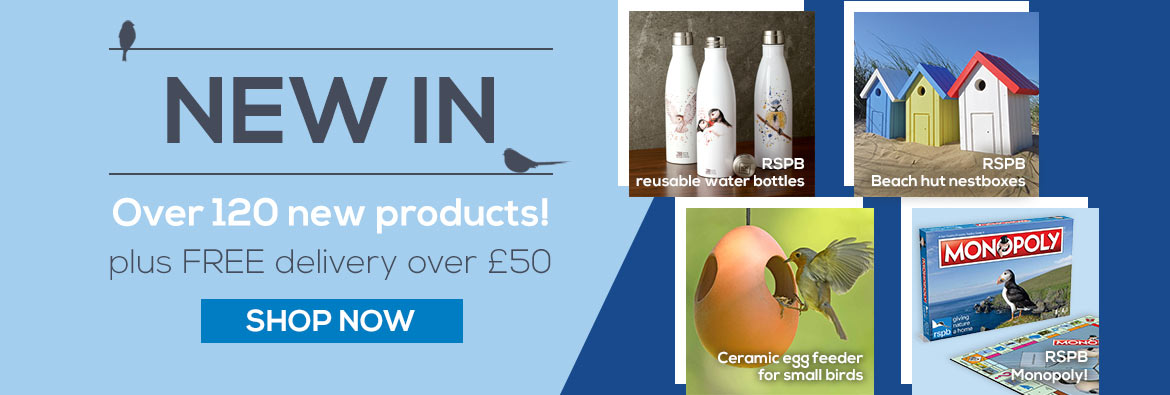 New season of over 120 products ready for Autumn Winter Christmas 2019 featuring RSPB Monopoly edition, steel water bottles and more