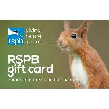 RSPB Shop gift card, squirrel design product photo