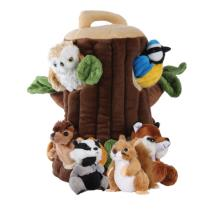 Tree house hideaway puppet product photo