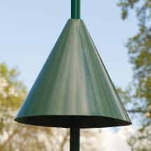Squirrel guard pole mounted cone product photo