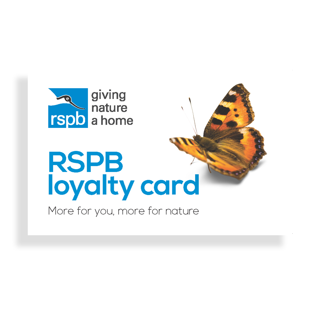 RSPB loyalty card product photo