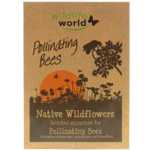Pollinating bee attractor seed pack product photo