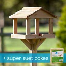 Gallery bird table & super suet cakes offer product photo