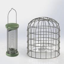RSPB Ultimate nut & nibble feeder + guardian, small product photo