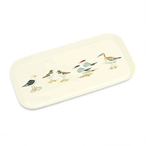 Coastal birds slim tray product photo