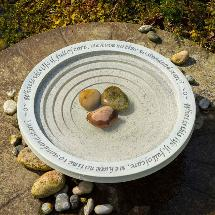 Shenstone bird bath product photo