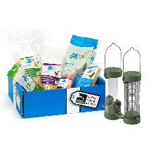 Bumper bird food gift box with feeders product photo