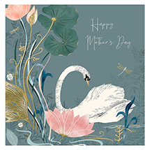 Happy Mother's Day Swan card product photo