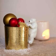 Polar bear pot hanger product photo