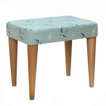 Stuart Jones RSPB Eton dressing table stool, swallows product photo