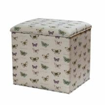 Stuart Jones RSPB grosvenor butterflies ottoman product photo