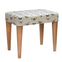 Stuart Jones RSPB Eton dressing table stool, butterflies product photo