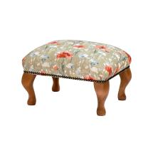 Stuart Jones RSPB Marlow footstool, poppies product photo