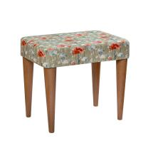 Stuart Jones RSPB Eton dressing table stool, poppies product photo