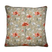 Stuart Jones RSPB cushion, poppies product photo