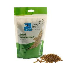 Dried mealworms 100g product photo