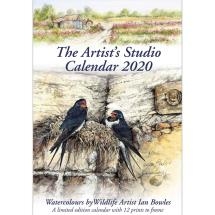 Artists Studio 2020 wall calendar product photo