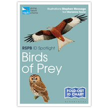 Birds of prey identifier chart - RSPB ID Spotlight series product photo