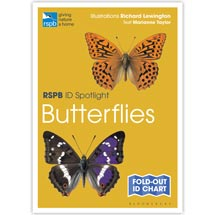 Butterflies identifier chart - RSPB ID Spotlight series product photo