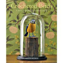 Crocheted birds by Vanessa Mooncie product photo