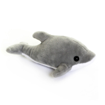Dolphin cuddly toy, eco product photo