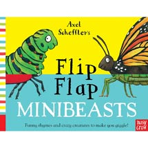 Flip Flap Minibeasts by Axel Scheffler product photo