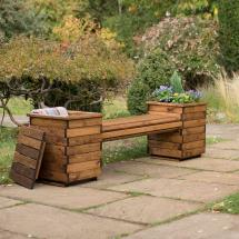 Planter bench - RSPB Garden furniture, Lodge Collection product photo