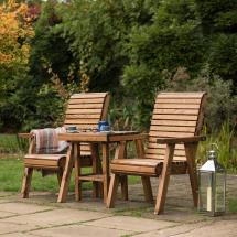Love seat - RSPB Garden furniture, Lodge Collection product photo