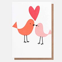 Love Bird Valentines Day card product photo