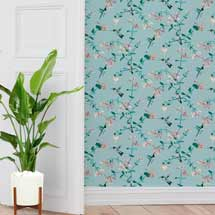 Lorna Syson wallpaper, mint product photo