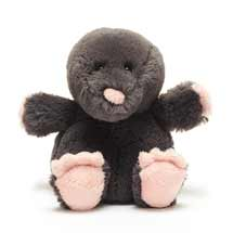 Florence the mole plush beanie toy 20cm product photo