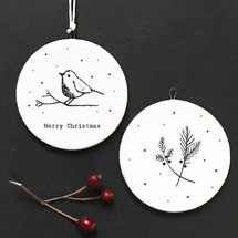 Merry Christmas ceramic decoration product photo