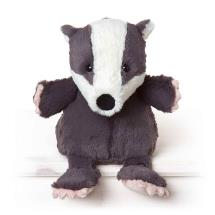 Milton the badger plush beanie toy 25cm product photo