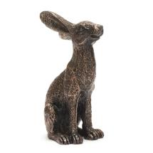 Mini alert hare sculpture product photo