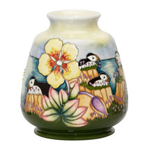 Moorcroft vase, Spotted Rock-Rose product photo