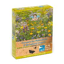 Flowers for pollinators seed mix box product photo